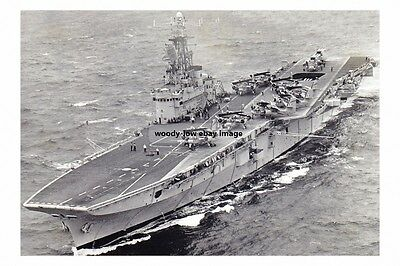 rp14603 - Canadian Aircraft Carrier - HMCS Bonaventure built 1957 photograph 6x4