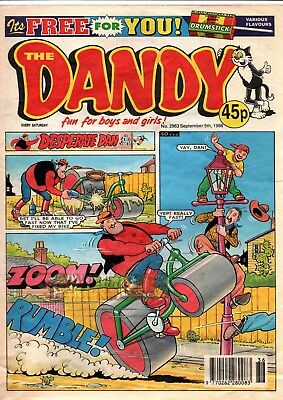 The Dandy Comic No 2963 September 5th 1998
