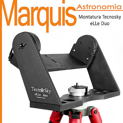 Head altazimuth Mount Tecnosky eLLe Duo made in italy