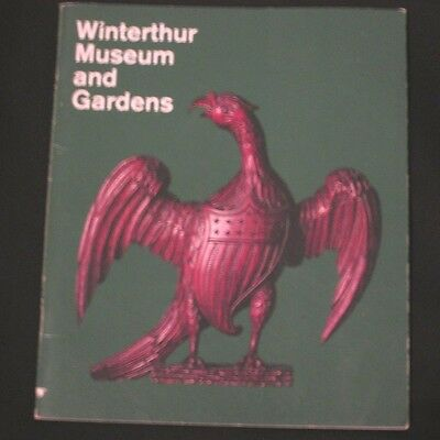 1972 Delaware Winterthur Museum and Gardens Souvenir Book Color Photos