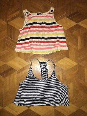 868f0aaf9d6c1 Lot 2 Débardeurs Bdg Urban Outfitters Court Crop Sexy Été Lolita Pin Up