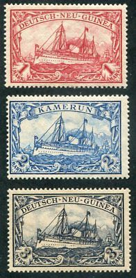 GERMAN NEW GUINEA  16 - 18  VERY  Nice  Mint  Hinged  Issues  UPTOWN 47019
