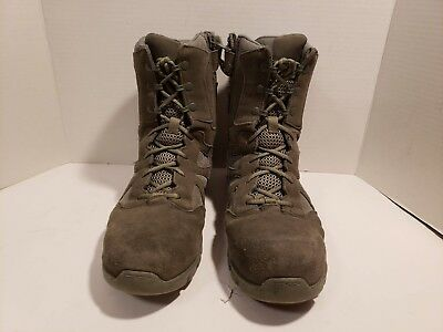 387ce559b6ee10 Reebok Men s Sublite Cushion Tactical RB8881 Military Boot ~ Sage Green ~  11.5