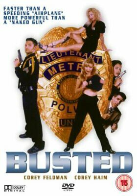 Busted [DVD] - DVD  7WVG The Cheap Fast Free Post