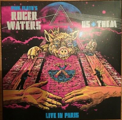 """Roger Waters (Pink Floyd) Us & Them """"live In Paris 2018"""" Rare Double Cd Neuf !"""