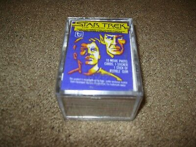 1979 Topps Star Trek The Motion Picture Complete 1-88 Trading Card Set