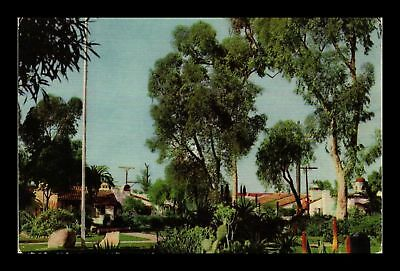 Dr Jim Stamps Us Old Town San Diego California Union Oil Illustrated Postcard