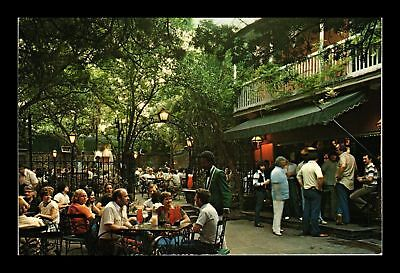 Dr Jim Stamps Us Pat O Briens Patio Courtyard New Orleans Postcard