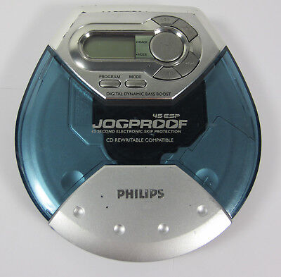 Phillips AX5119 Personal CD Player Jogproof With Bass Boost