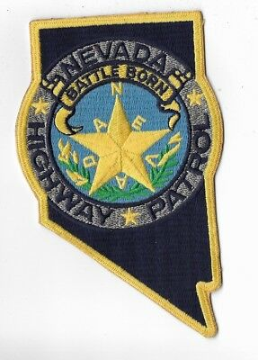 Nevada Highway Patrol Police Patch older version