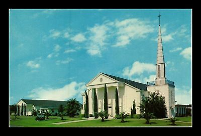 Dr Jim Stamps Us First Evangelical Lutheran Church Clearwater Florida Postcard