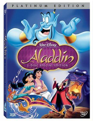 Aladdin (DVD, 2004, 2-Disc Set, Special Edition) New w/ Slipcover FREE Shipping!