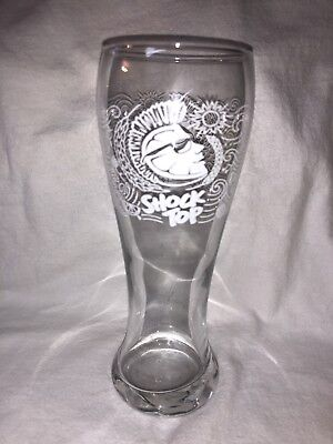 Shock Top Beer Glass
