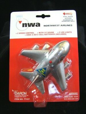 1990s NWA Northwest Airlines TOY PLANE Unopened Package