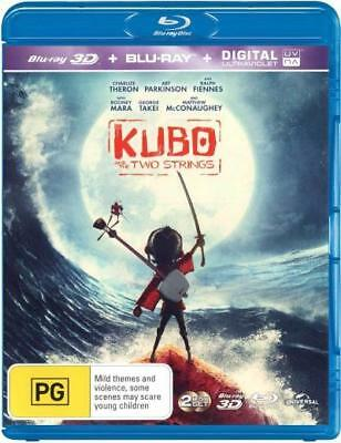 Kubo and the Two Strings (3D Blu-ray/Blu-ray/UV) = NEW Blu-Ray Region B