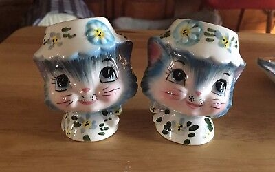 Vintage Lefton Japan Miss Priss Salt And Pepper Shakers