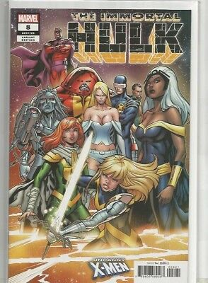 THE IMMORTAL HULK  # 8**Uncanny X-Men Variant Cover by Carlos Pacheco**NEAR MINT