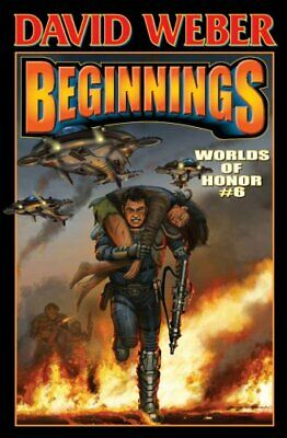 Worlds of Honor 6: Beginnings by Jane Lindskold Book The Cheap Fast Free Post