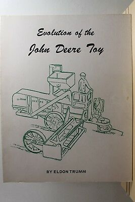 John Deere Evolution Toy Book Trumm Collectable Farm Tractors machinery