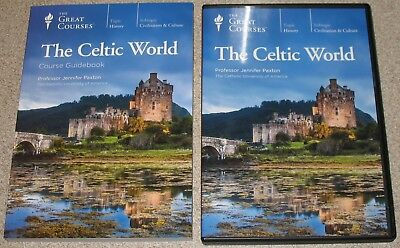 GREAT COURSES THE CELTIC WORLD 4 DVDs + BOOK