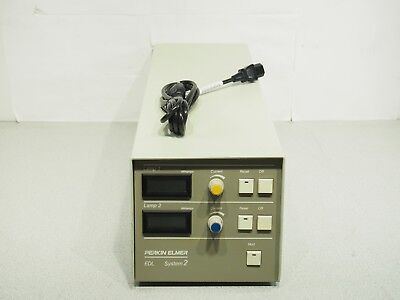 Perkin Elmer EDL System 2 Light Source Power Supply 120VAC No Accessories Tested