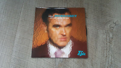 """Morrissey 7"""" First Of The Gang To Die. Smiths"""
