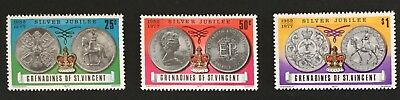 Grenadines of St. Vincent 1977 Silver Jubilee SG93/5 MNH