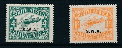 [30197] South West Africa 1930 Good airmail set Very Fine MNH stamps