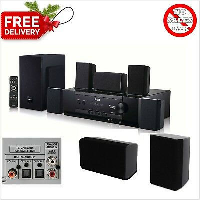 RCA Bluetooth Home Theater System 5.1 Channel Wireless Best Surround Sound Loud