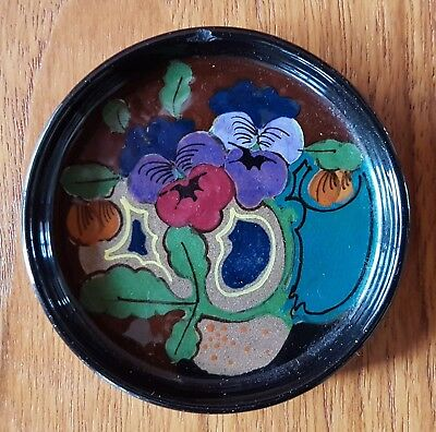 Small Gouda Art Pottery Art Nouveau Coaster