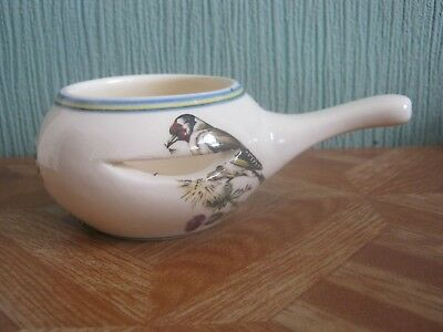 Brixham Pottery Sauce Boat with Birds Pictured