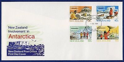 New Zealand - Fdc - Antarctic Research - 1984