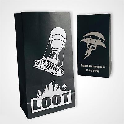 Gamer Empty Party Bags - (12 pcs) Fillers, Favours, supplies, Loot