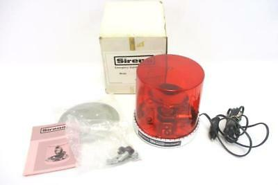 Vintage 1976 Jabsco Products ITT Sireno Emergency Light Red Model 44640