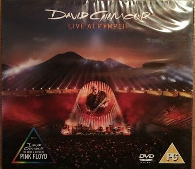 """David Gilmour """"live At Pompei"""" Double Dvd Live Neuf !"""