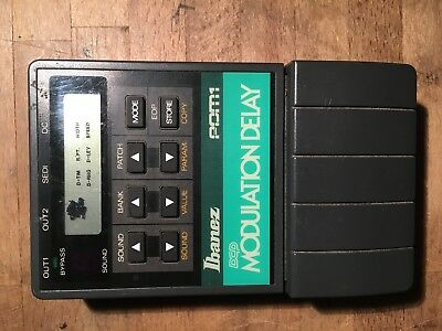 rare Ibanez PDM 1 // 80's Programable Delay Modulation guitar effect pedal