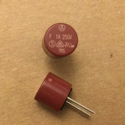 10x Fuse TR5 PCB Mounting Slow Blow  FUSE SCHURTER MST 250 1.6A T 4.3