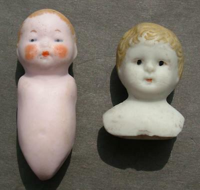 Antique / Vintage China Porcelain Dolls Boys - Lot 20