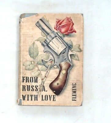 FROM RUSSIA WITH LOVE By IAN FLEMING  The Book Club Hardback - S38
