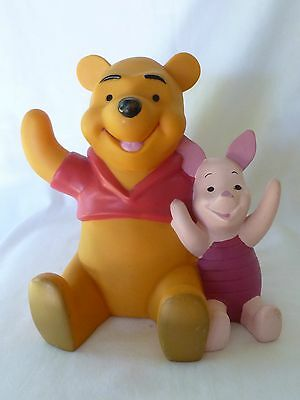 Disney Winnie The Pooh And Piglet Too Plastic Pvc Coin Bank
