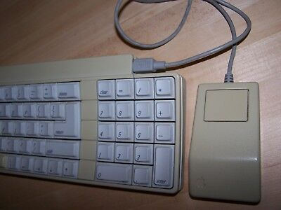 Apple Vintage Keyboard 658-4081 with Apple Mouse model G5431