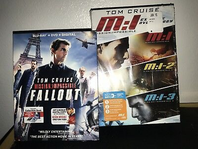 Mission: Impossible Extreme DVD Trilogy/Mission Impossible: Fallout (Blu-Ray/DVD