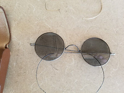 3 Pairs Of Vintage Eye Glasses With 2 Cases Gold Filled