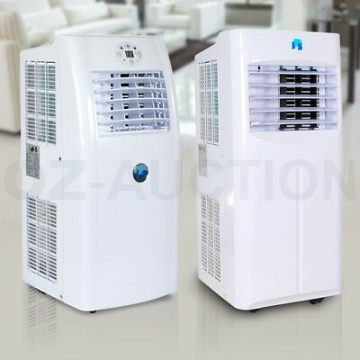 Portable Air Conditioner Fan Dehumidifier Cooler Cooling Remote Control LED