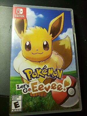 Pokemon: Let's Go, Eevee! - Nintendo Switch still wrapped