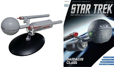 STAR TREK Official Starships Magazine #100 HORIZON DAEDALUS CLASS Eaglemoss