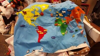 Fca Group 2017 North American Map For Uconnect 730n Rhr.Fao Schwarz Big World Map Fao Schwarz Big World Map Find Zip
