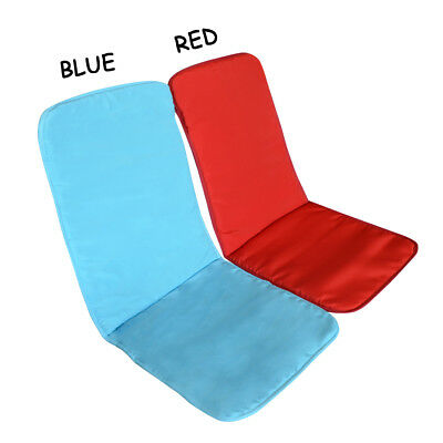 2pcs High Back Chair Seat Cushions Dining Patio Garden Furniture Soft Pads Mats