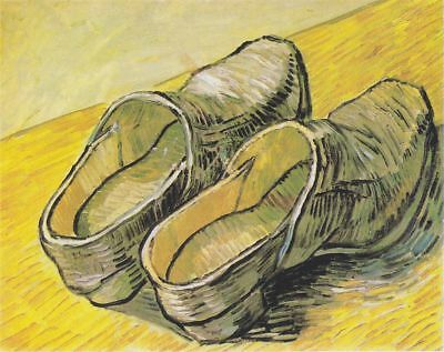 """stunning  oil painting handpainted on canvas """"A pair of shoes"""""""