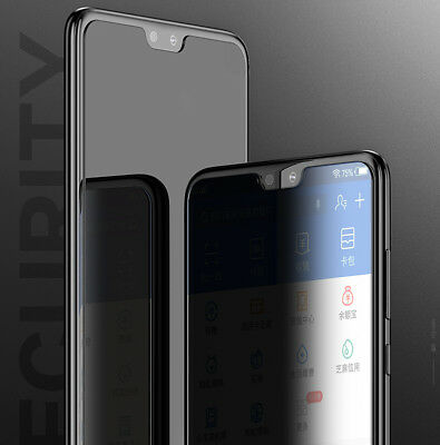 Huawei P20/Pro/Lite Mate 10Lite trempé verre Screen Protector Privacy Antiespion